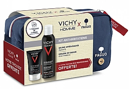 Set - Vichy Homme Sensitive After-Shave (foam/200ml + a/sh/balm/75ml + bag) — Imagine N1