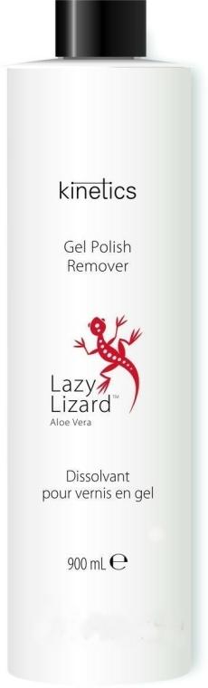 Soluție cu aloe vera pentru îndepărtarea gel-lacului - Kinetics Red Lizard Gel Polish Remover — Imagine N1