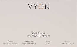 Parfumuri și produse cosmetice Set - Vyon Gell Guard Intensive Treatment (peel/10ml + conc/7ml + mask/25g + finish/7ml)
