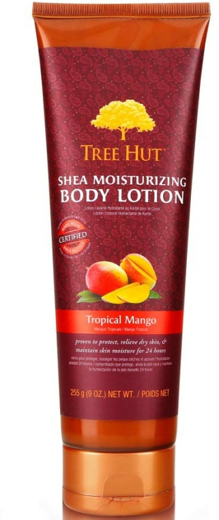 "Loțiune pentru corp ""Mango tropical"" - Tree Hut Shea Moisturizing Body Lotion — Imagine N1"