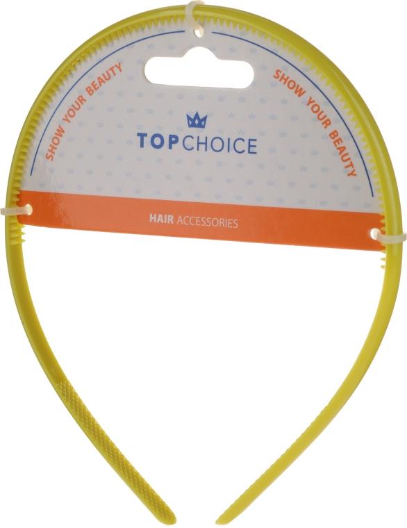 Cordeluță de păr, 27871, galbenă - Top Choice — Imagine N1