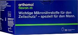Parfumuri și produse cosmetice Complex vitaminic pentru bărbați cu probleme de prostată, capsule - Orthomol Flavon M