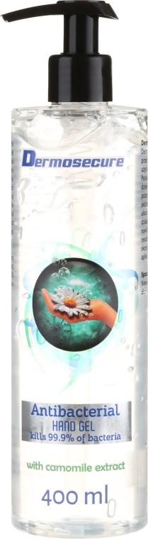 Gel antibacterian cu extract de mușețel pentru mâini - Dermosecure Antibacterial Hand Gel — Imagine N1