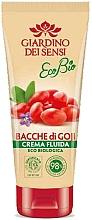 Parfumuri și produse cosmetice Balsam de corp - Giardino Dei Sensi Ecobio Goji Berries Fluid Cream