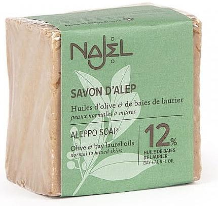 Săpun de Alep 12% ulei de dafin - Najel Savon d'Alep Aleppo Soap By Laurel Oils 12% — Imagine N5