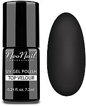 "Parfumuri și produse cosmetice Top coat pentru gel-lac ""Finisaj mat"" (efect velur) - NeoNail Professional Top Matte Velour Uv Gel Polish"