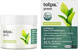 Parfumuri și produse cosmetice Cremă de față - Tolpa Green Mattifying Normalizing Cream