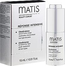 Parfumuri și produse cosmetice Ulei de față - Matis Reponse Intensive OleaScience