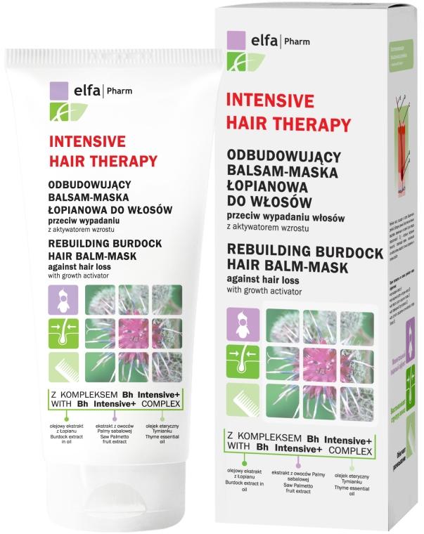 Mască-balsam regenerantă cu brusture pentru păr - Elfa Pharm Burdock Hair Balm-Mask — Imagine N1
