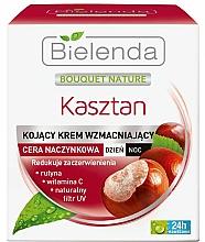 Parfumuri și produse cosmetice Cremă fortifiantă de zi-noapte - Bielenda Chestnut Cream Day/Night