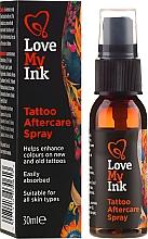 Parfumuri și produse cosmetice Spray de corp - Love My Ink Tattoo Aftercare Spray