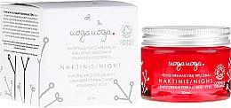 Parfumuri și produse cosmetice Cremă de noapte pentru față - Uoga Uoga Hyaluronic Acid Night Cream