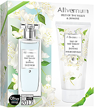 Parfumuri și produse cosmetice Allvernum Lily Of The Valley & Jasmine - Set (edp/50ml + b/lot/200ml)
