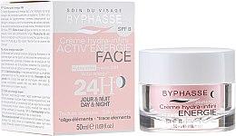 Parfumuri și produse cosmetice Cremă hidratantă 24 de ore - Byphasse Cream Hydra-Infini Energie SPF8
