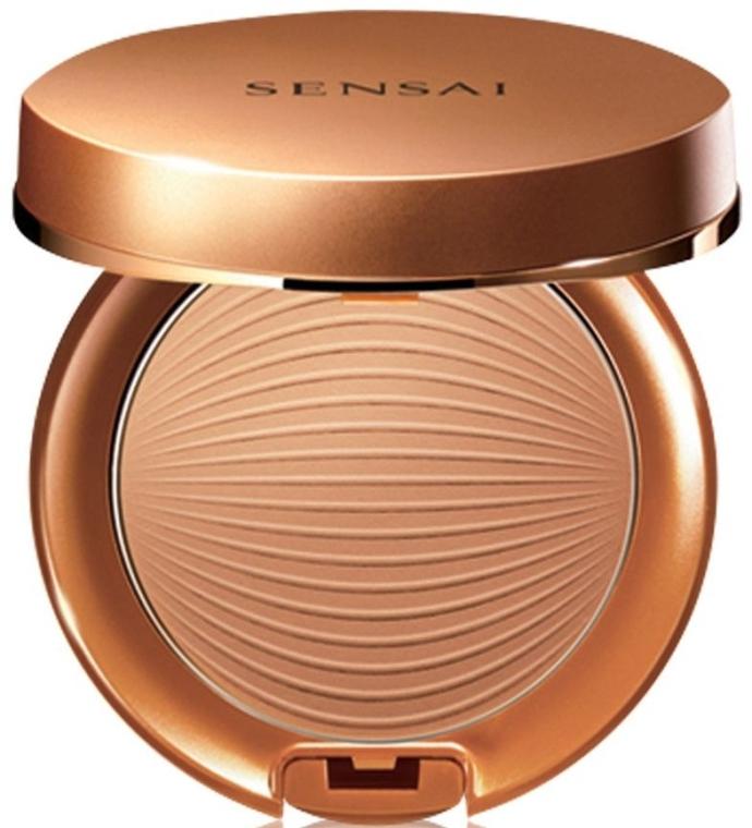 Pudră bronzantă cu protecție solară - Kanebo Sensai Sun Protective Compact — Imagine N1