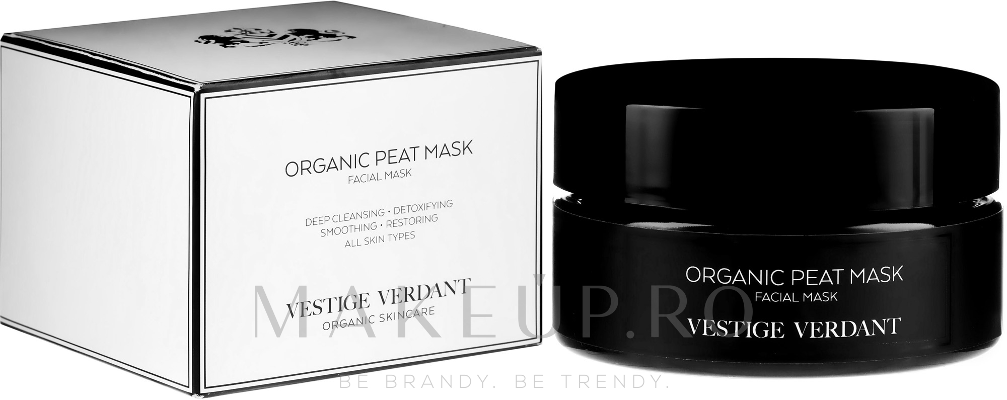 Mască de față - Vestige Verdant Organic Peat Mask — Imagine 100 ml