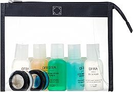 Parfumuri și produse cosmetice Set - Ofra Skin Care Kit Oily (cleanser/30ml + f/ton/30ml + eye/remover/30ml + ser/30ml + f/lot/30ml + b/scrub/7ml + f/mask/7ml + bag)