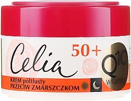 Parfumuri și produse cosmetice Cremă de față 50+ - Celia Q10 Vitamin 50+