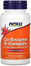 Parfumuri și produse cosmetice Supliment natural Coenzima, 60 capsule - Now Foods Co-Enzyme B-Complex