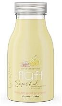 "Parfumuri și produse cosmetice Loțiune de duș ""Banană și migdale"" - Fluff Smoothie Superfood Body Lotion Bananas and Almonds"