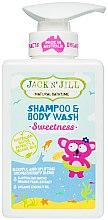 Parfumuri și produse cosmetice Șampon-Gel de duș pentru copii 2 în 1 - Jack N' Jill Sweetness Shampoo & Body Wash