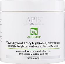 Parfumuri și produse cosmetice Mască de față - APIS Professional Algae Mask For Acne Skin