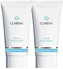 Parfumuri și produse cosmetice Set - Clarena Caviar Clarena (sh/gel/30ml + body/chr/30ml)