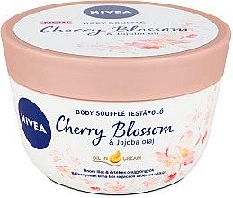 Parfumuri și produse cosmetice Souffle pentru corp - Nivea Body Souffle Cherry Blossom & Jojoba Oil