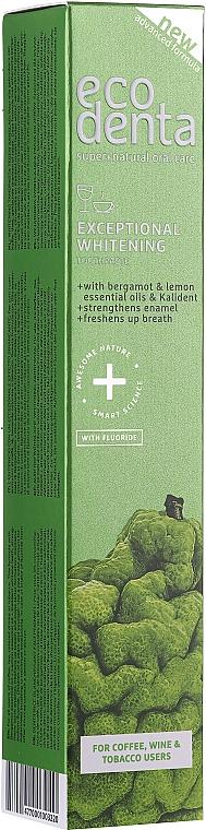 Pastă de dinți cu extract de bergamotă - Ecodenta Whitening Toothpaste