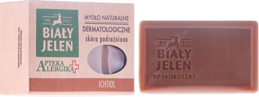 Săpun dermatologic cu ichtiol - Bialy Jelen Apteka Alergika Soap