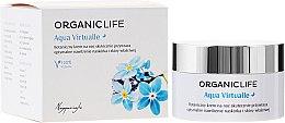 Parfumuri și produse cosmetice Cremă de față - Organic Life Dermocosmetics Aqua Virtualle Moisturising Night Cream