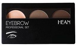 Parfumuri și produse cosmetice Paletă pentru conturarea sprâncenelor - Hean Professional Eyebrow Set 2