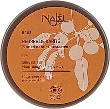 Parfumuri și produse cosmetice Unt organic de shea pentru piele uscată și păr - Najel Organic Shea Butter