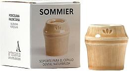 Parfumuri și produse cosmetice Suport periuță de dinți, bej  - NaturBrush Sommier Toothbrush Holder