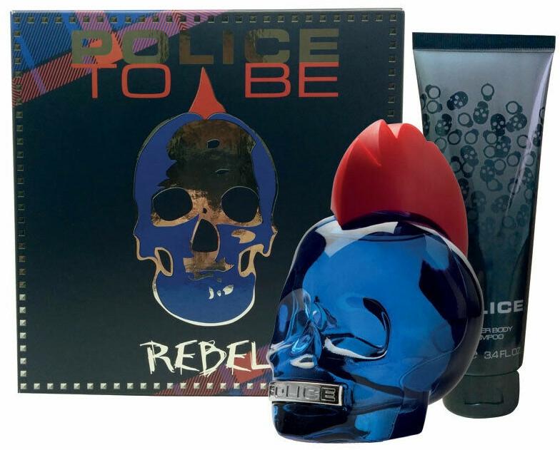 Police To Be Rebel - Set (edt/75ml + sh/gel/100ml)