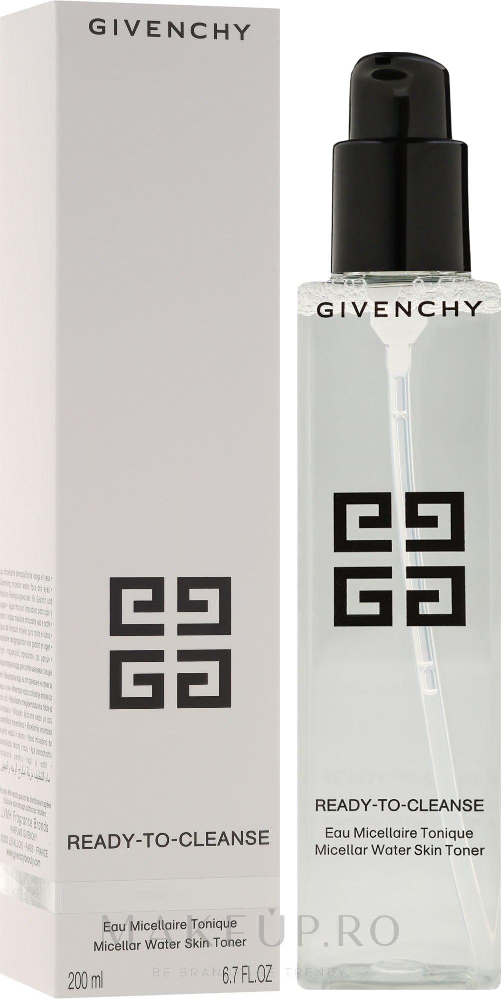 Tonic micelar pentru față - Givenchy Ready-To-Cleanse Micellar Water Skin Toner — Imagine 200 ml