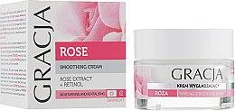 Parfumuri și produse cosmetice Cremă hidratantă pentru față, cu extract de trandafir - Gracja Rose Face Cream