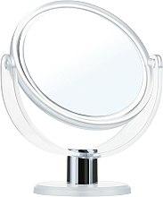 Parfumuri și produse cosmetice Oglindă cosmetică, 9275, albă, 12cm - Donegal Mirror