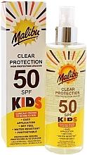Parfumuri și produse cosmetice Spray protecție solară pentru copii - Malibu Kids Clear Protection Spray SPF 50