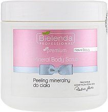 Parfumuri și produse cosmetice Peeling mineral profesional pentru corp - Bielenda Natural Beauty Mineral Body Scrub
