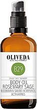"""Parfumuri și produse cosmetice Ulei de corp """"Rozmarin și salvie"""" - Oliveda Body Oil Rosemary Salbei Activating"""