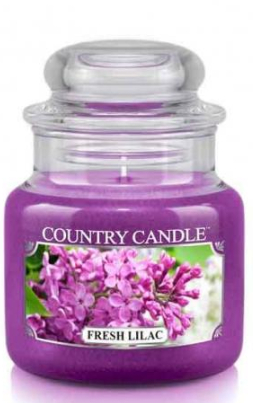 "Lumânare aromată ""Liliac proaspăt"" (borcan) - Country Candle Fresh Lilac — Imagine N1"