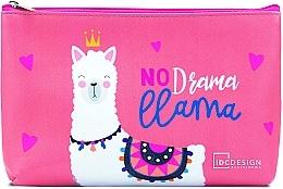 Parfumuri și produse cosmetice Trusă cosmetică cu imprimeu, roz - IDC Institute Design Accessories Cosmetig Bag