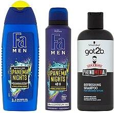 Set - Fa Men Testosteron (sh/gel/250ml + deo/150ml + shmp/250ml) — Imagine N2