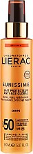 Parfumuri și produse cosmetice Lăptișor de protecție solară pentru corp SPF50 - Lierac Sunissime