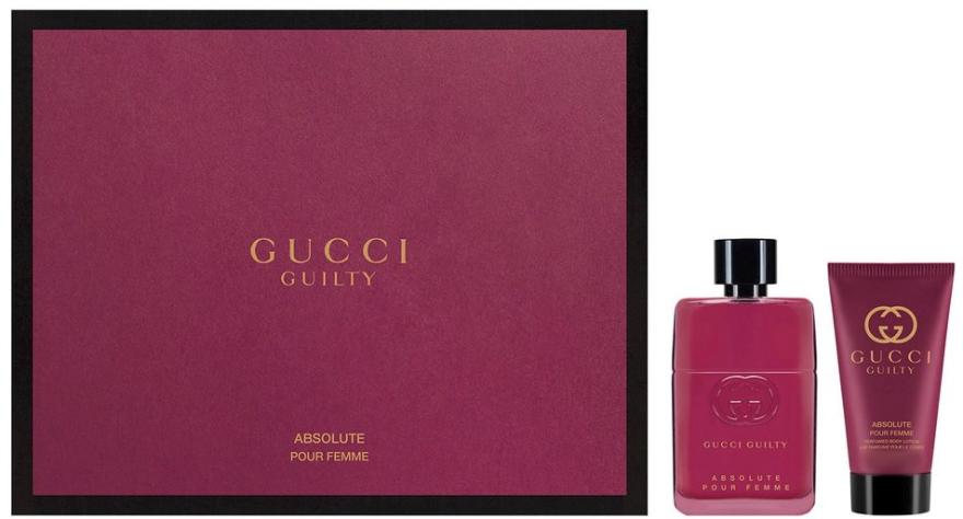 Gucci Guilty Absolute Pour Femme - Set (edp/50ml + b/lot/50ml)  — Imagine N1