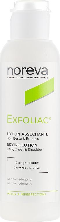 Loțiune pentru piele problematică - Noreva Laboratoires Exfoliac Drying Lotion — Imagine N1