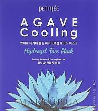 Parfumuri și produse cosmetice Mască hydrogel cu extract de agava și efect revigorant - Petitfee & Koelf Agave Cooling Hydrogel Face Mask