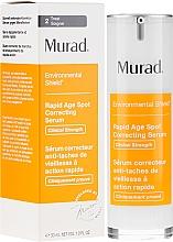 Parfumuri și produse cosmetice Ser împotriva hiperpigmentării și petelor pigmentare - Murad Environmental Shield Rapid Age Spot Correcting Serum