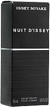 Parfumuri și produse cosmetice Issey Miyake Nuit d'Issey - Apă de toaletă (mini)